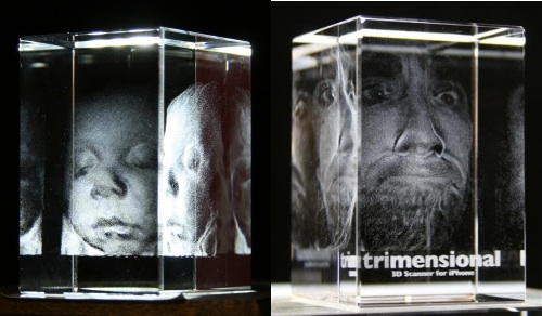 Trimensional: 3D Crystal Engraving
